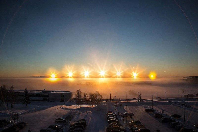 Alaska suns